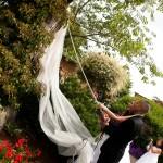 Wedding Log House Garden 5 9.12