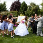Wedding Log House Garden 8 9.12