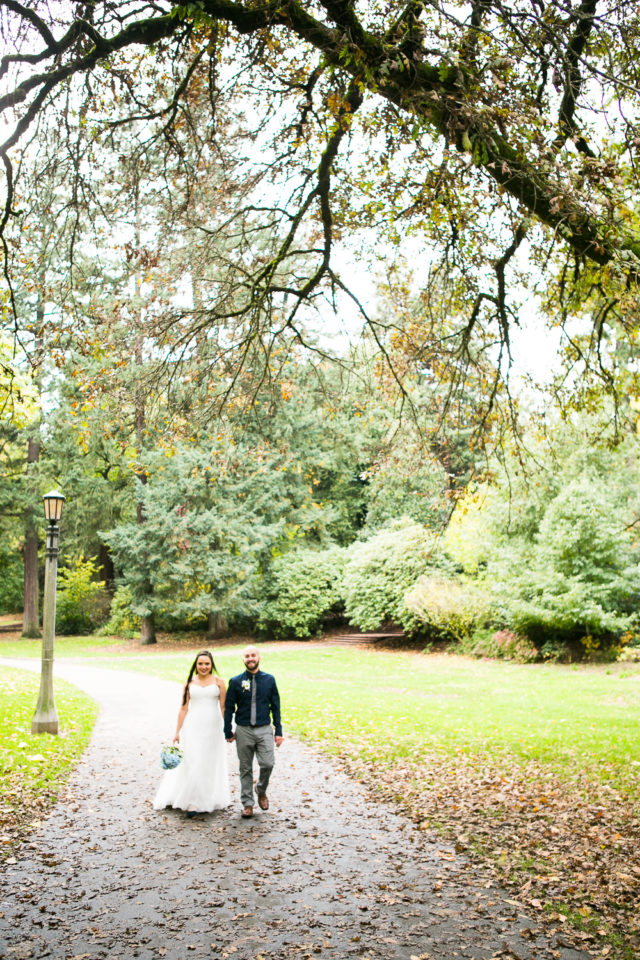 Daniel and Rose in Laurelhurst Park, Portland
